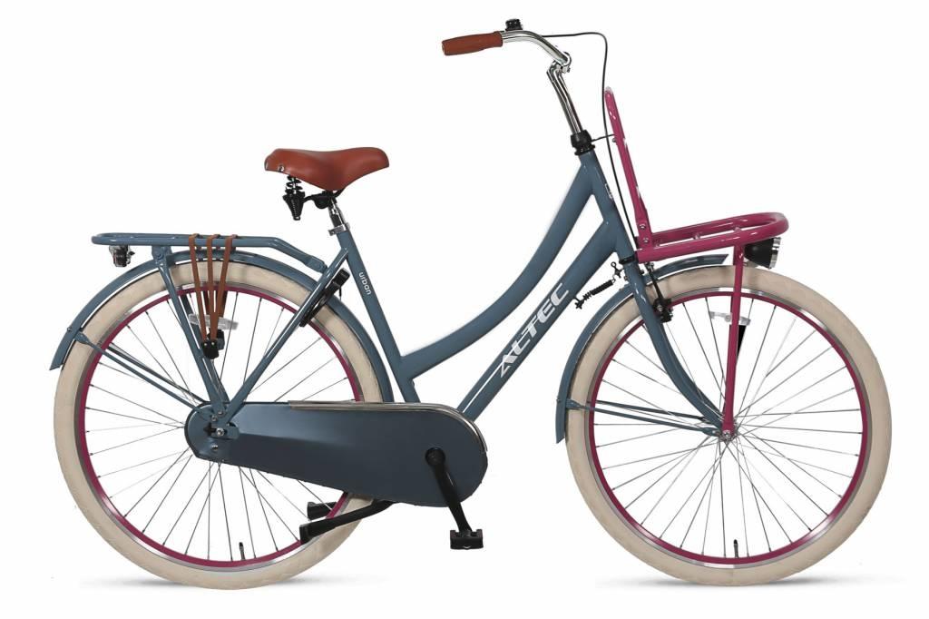 Winkel Outlet Altec Urban Transportfiets 28 inch  53cm Gray Pink