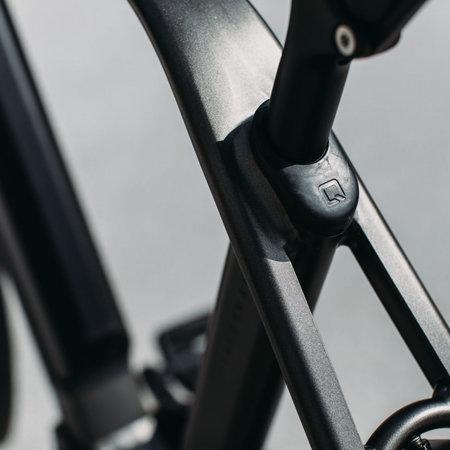 Winkel Outlet Qwic Performance RD11 Trapez, 48 (M), Matte Black
