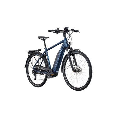 Winkel Outlet Victoria eTrekking 10.8 Heren 58 cm Denim Blue Matt/Blue 10v