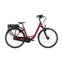 Winkel Outlet Victoria eClassic 3.1 Dames 53cm  Cranberry Red/Silver 7V