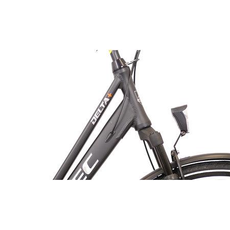 Winkel Outlet Altec Delta Plus Damesfiets 28 inch 3v 50cm Mat Zwart