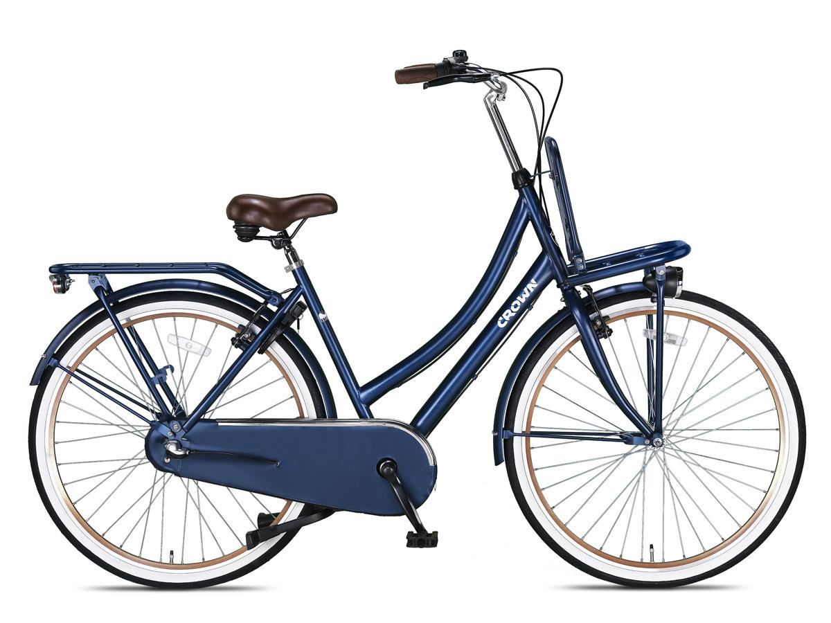 Crown Istanbul Transportfiets 28 inch 53cm 3v Jeans Blue online kopen