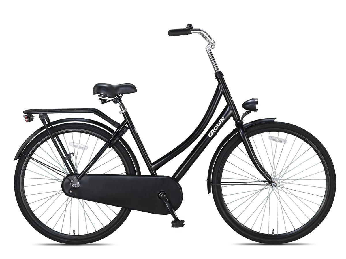 Crown Moscow Omafiets 28 inch 53cm Zwart online kopen