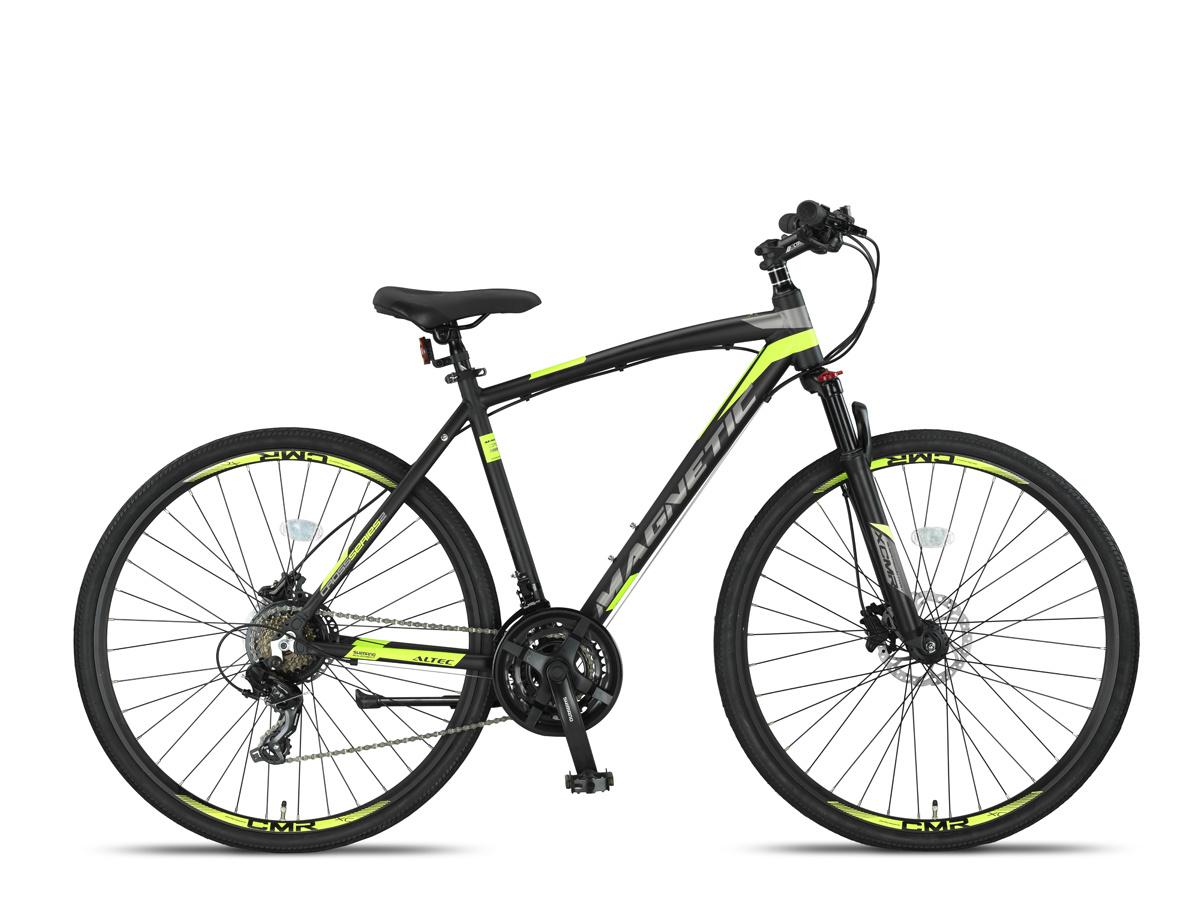 Altec Magnetic Trekking MTB Heren 28 inch Zwart Lime online kopen