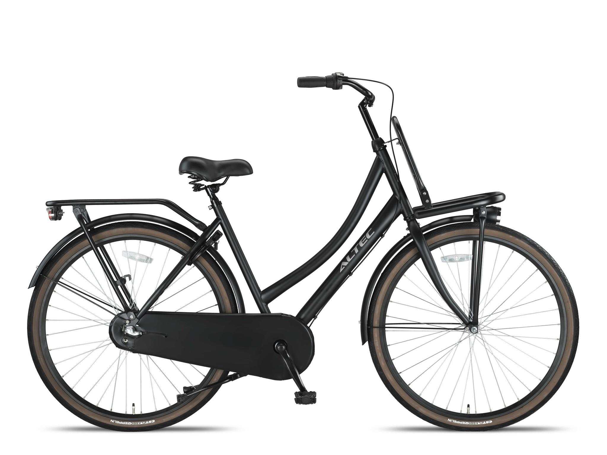 Altec Nostalgia 28 inch 53 cm Transportfiets N3 Mat Zwart online kopen