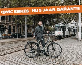 Qwic fietsen - 5 Jaar garantie