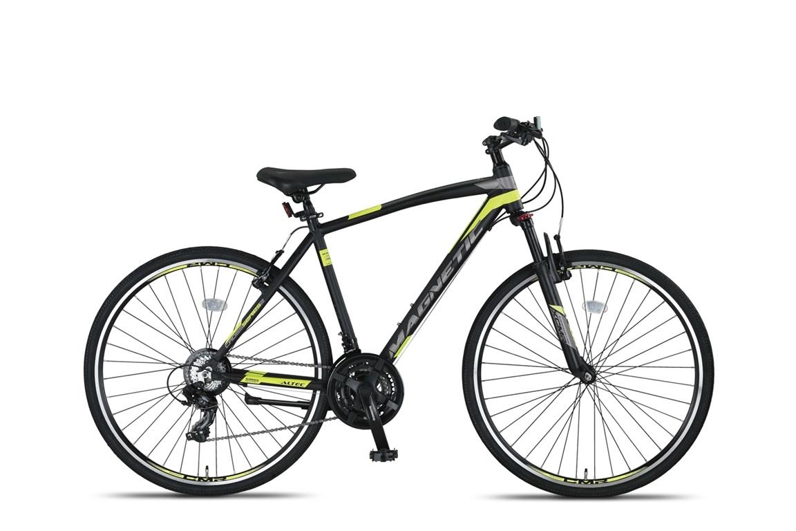 Altec Magnetic Trekking V-Brakes Heren 28inch 51cm Black/Lime online kopen