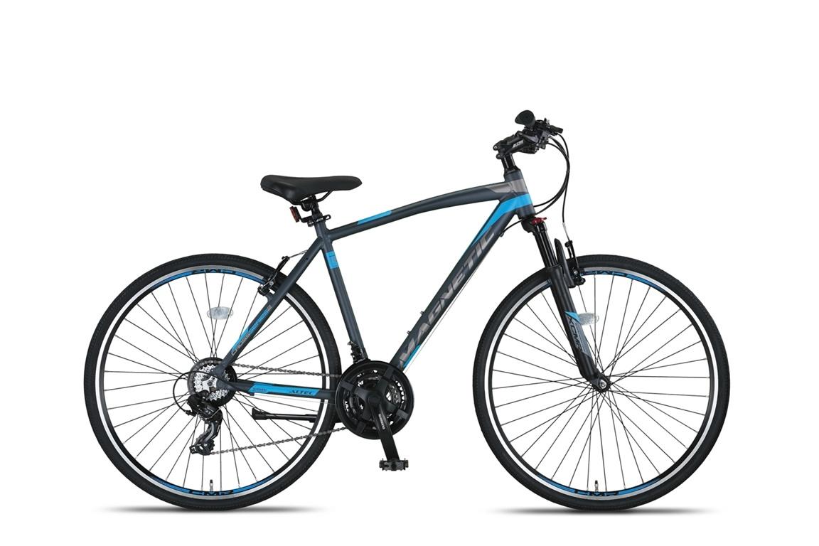 Altec Magnetic Trekking V-Brakes Heren 28inch 51cm Antraciet/Blue online kopen