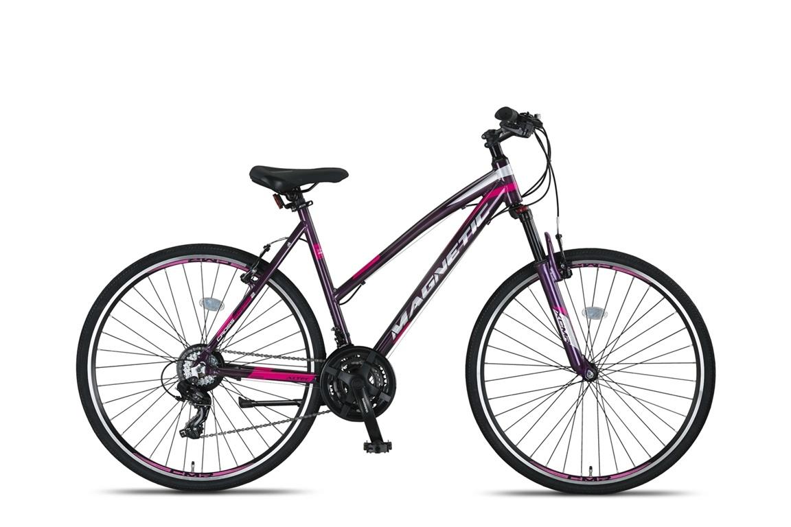 Altec Magnetic Trekking V-Brakes Dames 28inch 52cm Gray/Pink online kopen
