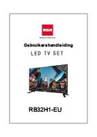 Gebruikershandleiding RB32H1-EU