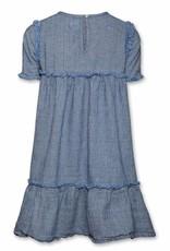 Ao76 Ao76 jurk blauw mae
