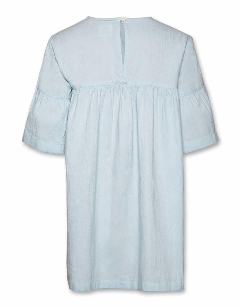 Ao76 Ao76 jurk blauw martha