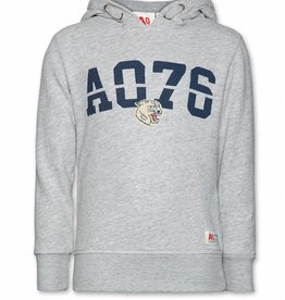 Ao76 sweater kap ao76 grijs
