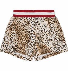 Monnalisa Monnalisa leopard Short tijgerprint