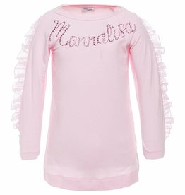 Monnalisa Monnalisa T shirt rose +Monnalisa