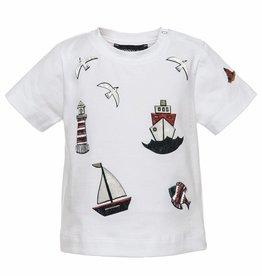 Monnalisa Monnalisa T shirt vis boot