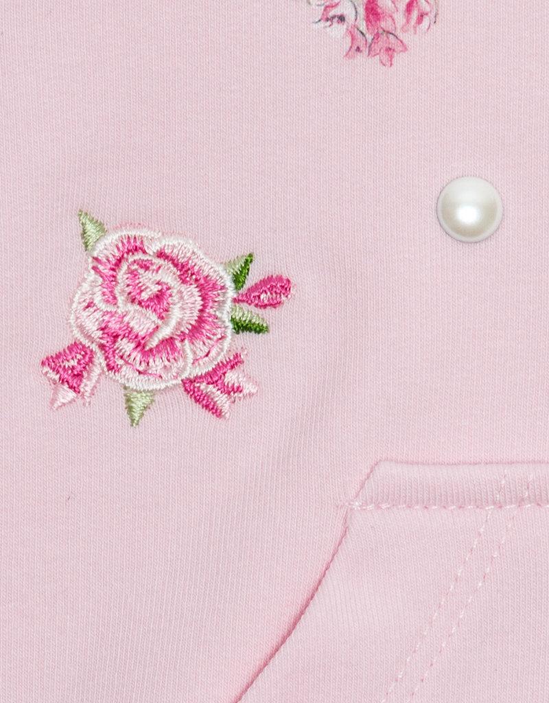 Monnalisa Monnalisa Gilet sweat rose