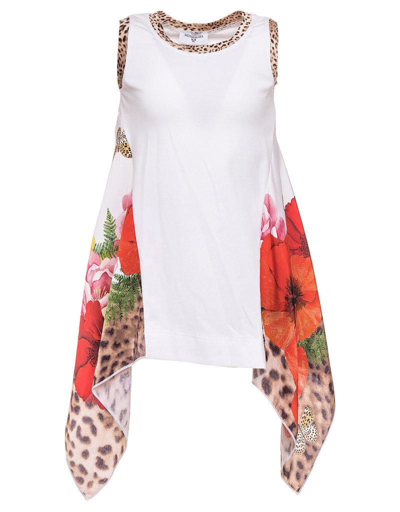 Monnalisa Monnalisa T shirt foulard