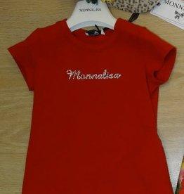 Monnalisa Monnalisa T shirt rood