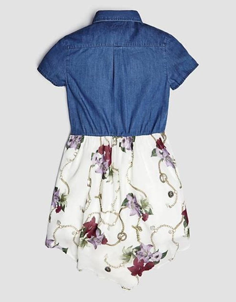 GUESS Guess jurk jeans dessin