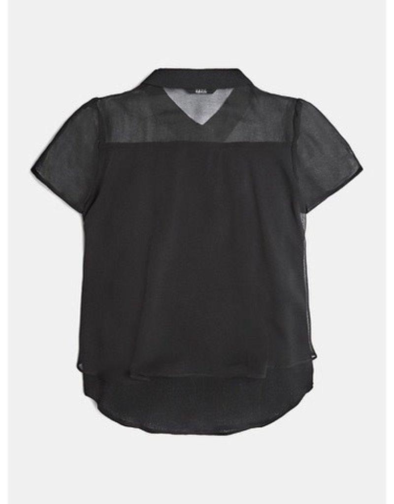 Guess blouse zwart
