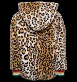 Ao76 jas met kap leopard