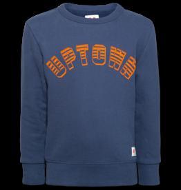 Ao76 sweater blauw uptown