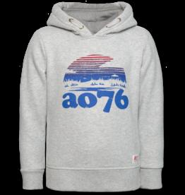 Ao76 sweater hoodie grijs