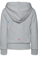 Ao76 Ao76 sweater rits kap grijs