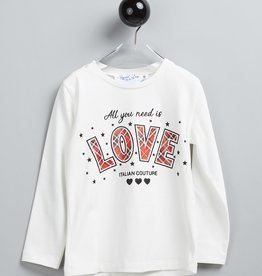 Special Day t shirt ecru love
