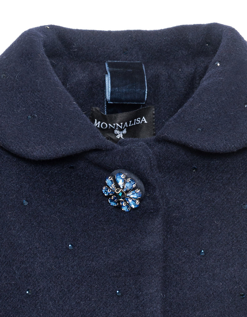 Monnalisa jas d blauw