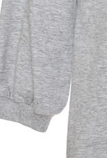 Monnalisa jurk grijs lm glam