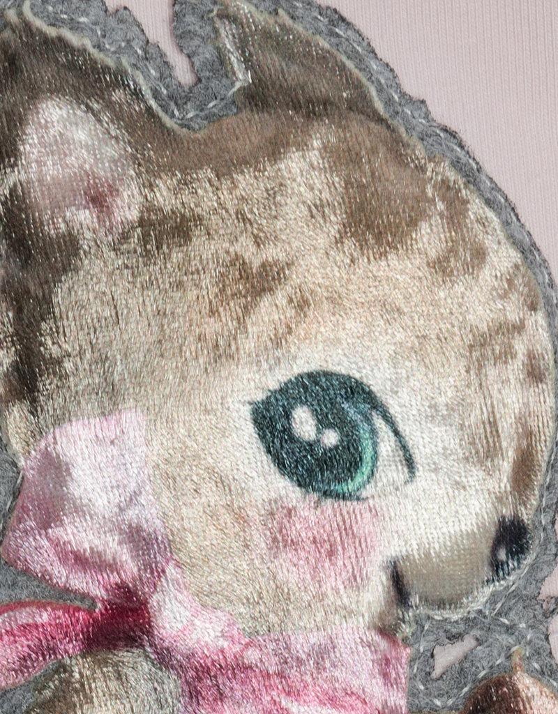 Monnalisa jurk rose eekhoorn