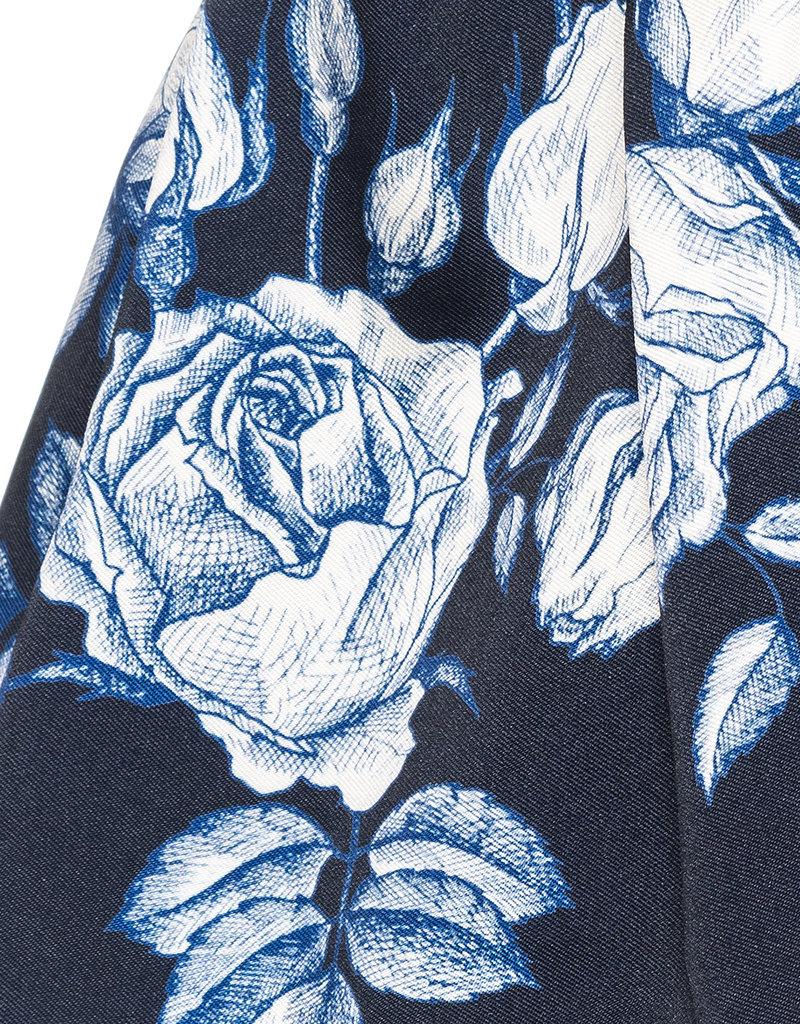 Monnalisa rok d blauw bloemen