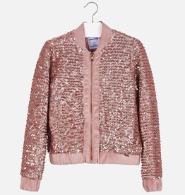 Mayoral gilet rits lovers roze