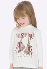 Mayoral t shirt inspire ecru