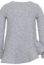Monnalisa top grijs glam