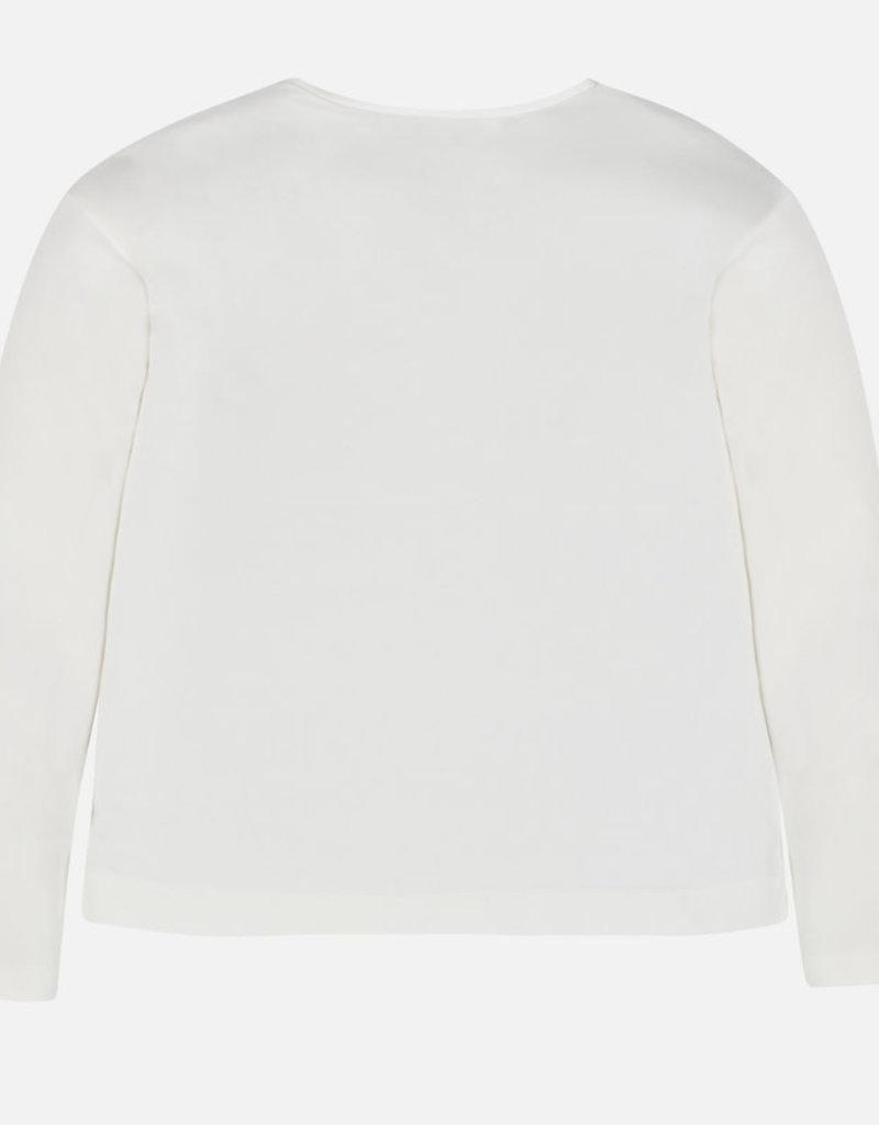 Mayoral t shirt ecru parfum