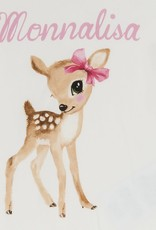 Monnalisa t shirt ecru bambi