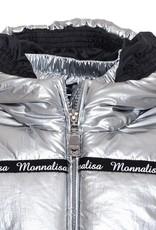 Monnalisa jas zilver