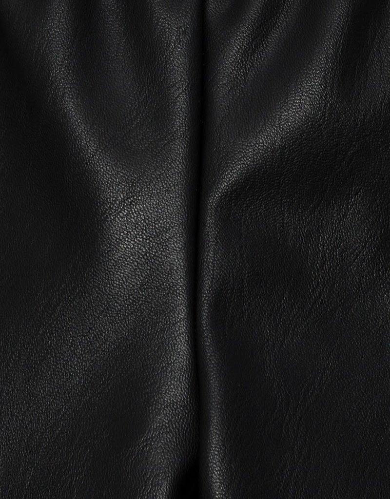 Monnalisa legging zwart hartjes