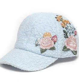 Monnalisa pet blauw bloem