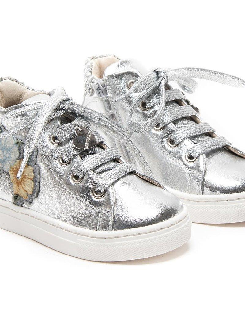 Monnalisa schoen glitter bloem