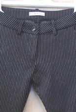 Elsy broek zwart lurex