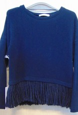 Elsy trui blauw flosjes