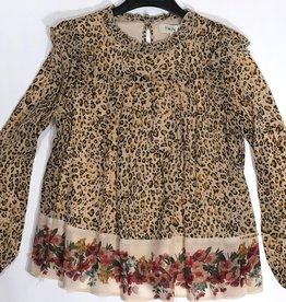 Twinset blouse  leopard