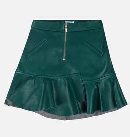 Mayoral rok lederlook groen