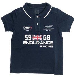 Hackett  polo donker blauw km Aston Martin