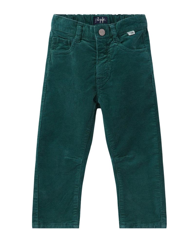 Il Gufo broek jgs donker groen