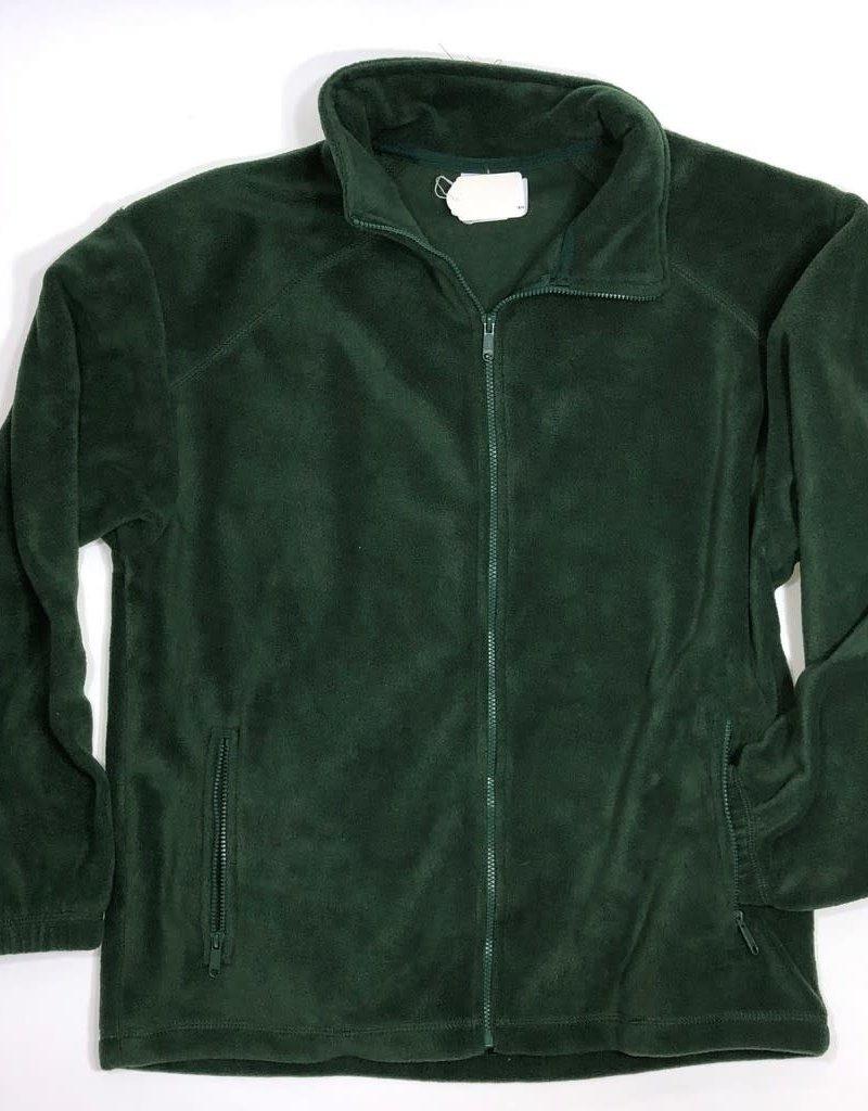Schooluniform gilet fleece groen